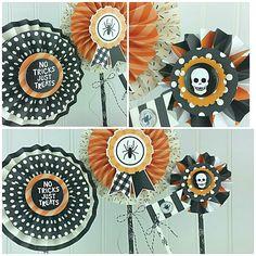 Halloween paper crafts using Lisa Bearnson's Anthology Trick or Treat kit. #lisabearnson #anthologydiy