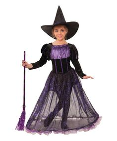Love this Purple Potion Witch Dress-Up Set - Kids on #zulily! #zulilyfinds