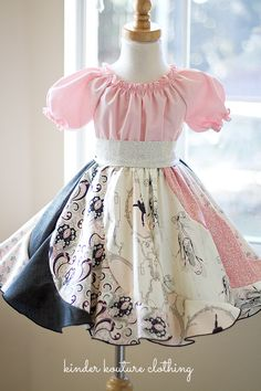 Kinder Kouture is an online retailer for quality handmade girl's clothing with a touch of class. Little Girl Outfits, Little Girl Fashion, Little Girl Dresses, Kids Fashion, Baby Girl Dresses, Baby Dress, Cute Dresses, Toddler Dress, Toddler Outfits