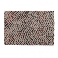 Carpet Lane - Multikleur wol en katoen - Laforma-Kave Wow deze is mooi! Dit vloerkleed is een combinatie van wol en katoen en is handgeweven! De afmeting is 130 x 190 cm. Perfect voor in de woon -of slaapkamer!