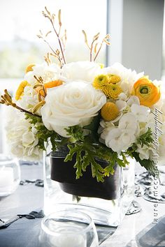 The post Black yellow & white wedding centerpiece. appeared first on Easy flowers. Yellow Flower Arrangements, Beautiful Flower Arrangements, Floral Centerpieces, Yellow Flowers, Spring Flowers, Wedding Centerpieces, Beautiful Flowers, White Centerpiece, Centrepieces