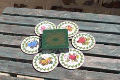 Portmeirion Set of Six Round Coasters in Original Box Botanic Garden Range Classic English Cottage Style English Cottage Style, English House, Drink Coasters, Botanical Gardens, Flower Designs, Garden Design, Presents, Range, The Originals