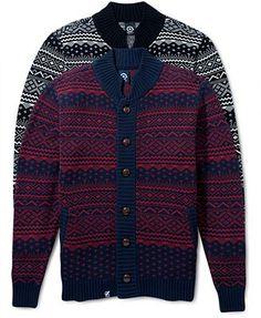 LRG Sweater, Uncle Norski Cardigan
