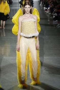 Westminster graduate David Ferreira shows at VFiles Spring 2016 Ready-to-Wear Fashion Show at New York Fashion Week
