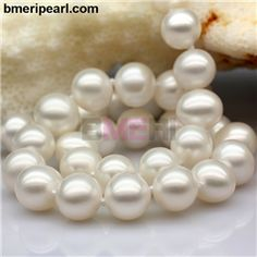 Pearl Necklace Wedding, Long Pearl Necklaces, Pearl Choker Necklace, White Pearl Necklace, Cultured Pearl Necklace, Cool Necklaces, Freshwater Pearl Necklaces, Cultured Pearls, Jewelry Companies
