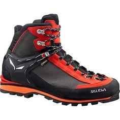 Salewa Crow GTX Mountaineering Boot,Men's,Black/Papavero,7 M US >>> Find out more about the great product at the image link.