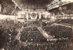 Luna Park, Buenos Aires, Argentina. April 10, 1938