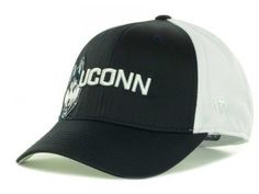 "UConn Huskies NCAA TOW ""Trapped"" Stretch Fitted Hat New #TopoftheWorld #UConnHuskies"