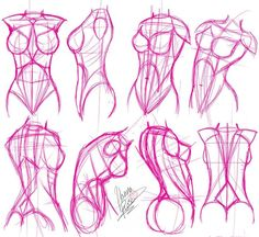 how to draw shoulders for female - Google Search