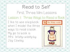 lessons in launching daily five Tips and advise First Day Activities, Word Work Activities, Reading Activities, Guided Reading, Teaching Reading, Teaching Tools, Teaching Ideas, Teaching First Grade, First Grade Reading