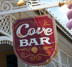 Cove Bar in California Adventure info. Click for the link.