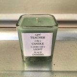 Custom Hand-Poured Natural Soy Candle - Teacher Appreciation by TheSaltyTurtle on Etsy