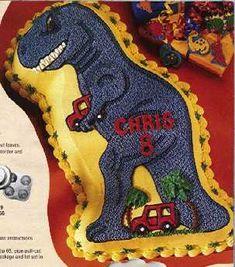 Buttercream Dinosaur Cake Cakes Gallery Pinterest Dinosaur