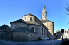 Avranches, Basilique Saint-Gervais. Basse Normandie