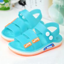 2016 New Boys And Girls Sports Sandals, Children Cool Shoes Jelly Plastic Baby Beach Summer Shoes, Sandals Kids Boys Shoes(China (Mainland))