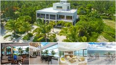 Located on a secluded beach surround by fruit trees and flowering shrubs rests this contemporary beach house with high ceilings and floor to ceiling windows that welcome an abundance of natural light and offer views of the sapphire blue water of the Cayman Islands.