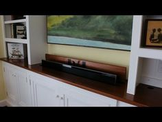 ▶ How to build a TV lift cabinet part 6 finished and installed by Jon Peters - YouTube
