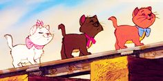 The Aristocats was the very first Disney movie I ever saw and I'm still in love with it.