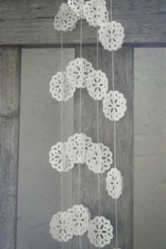 Angels+Breath+3D++Doily+Lace+Paper+Garland+by+MaisyandAlice