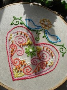 Free embroidery patterns.