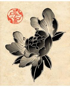 Best Japanese Tattoo Artwork Ideas on 2020 - Japan is home to some of the most incredible and detailed Japanese tattoo art. However, it's diff - Japanese Flower Tattoo, Japanese Tattoo Designs, Japanese Flowers, Japanese Art, Japan Tattoo Design, Japanese Dragon, Kunst Tattoos, Irezumi Tattoos, Body Art Tattoos