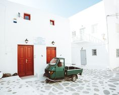Mykonos Greece. by bdorts #architecture #building #architexture #city #buildings #skyscraper #urban #design #minimal #cities #town #street #art #arts #architecturelovers #abstract #photooftheday #amazing #picoftheday