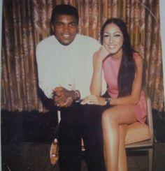 Supermodel Pat Cleveland & Muhammed Ali