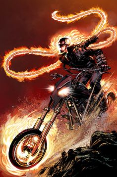 Ghost Rider Alternate Cover by NealAdams on @DeviantArt