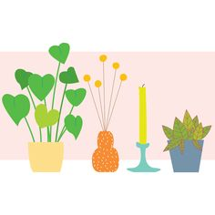 #illustration #graphic #plants #windowsill #indoorgarden #homedecor #pastels #drawing #apartmentgardening