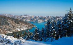 Υπέροχες χειμωνιάτικες εικόνες σε λίμνες της Ελλάδας Historical Sites, Grand Canyon, Greece, Journey, Earth, River, Adventure, World, Outdoor