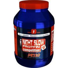 NIGHT SLOW PROTEIN COMPETITION 1Kg sabor Fresa