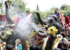 Songkran Water Festival - Thailand
