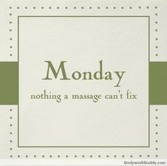 Monday, nothing a massage can't fix. The Springs Resort & Spa Call and book today! 970-264-7770