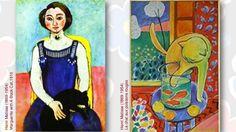 Henri Matisse (1869-1954)Marguerite with A Black Cat,1910Henri