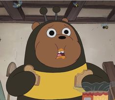 Wtf grizzly is so underrated for being cute Just Look At Him Bear Cartoon, Cartoon Icons, Cute Cartoon, Ice Bear We Bare Bears, We Bear, We Bare Bears Wallpapers, Cute Wallpapers, Pardo Panda Y Polar, Cartoon Network