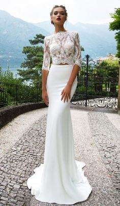 Featured Wedding Dress: Milla Nova; www.millanova.com; Wedding dress idea.