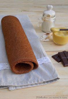 PASTA #BISCOTTO AL #CACAO, cuoce in 10 minuti ed è perfetta per realizzare i #dolci che preferite, #rotoli, #torte a strati e #merendine. Ricetta perfetta super collaudata  #gialloblog #recipe #chocolate