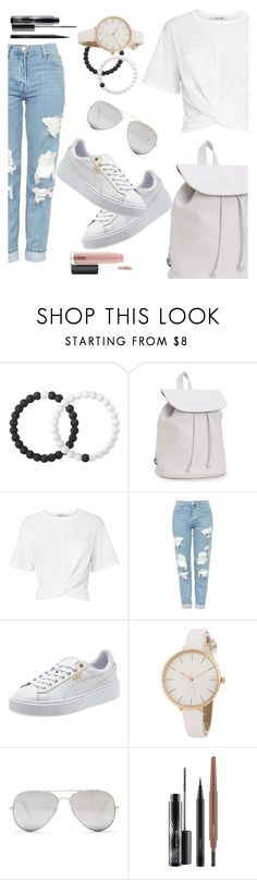 """Untitled #274"" by pretty0329 ❤ liked on Polyvore featuring Lokai, Aéropostale, T By Alexander Wang, Topshop, Sunny Rebel and MAC Cosmetics"