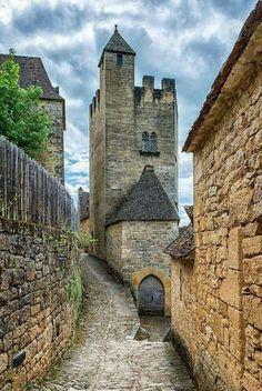 Medieval Chateau de Beynac, France