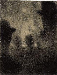 Au Concert Parisien, 1887-88  Georges Seurat