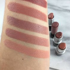 Nude Lips are perfect all year round but especially love for the Fall. See my top 8 MAC Nude Lipstick swatches for color comparisons Best Mac Lipstick, Mac Lipstick Swatches, Best Mac Makeup, Maybelline Lipstick, Lipstick For Fair Skin, Lipstick Art, Natural Lipstick, Best Lipsticks, Makeup Swatches