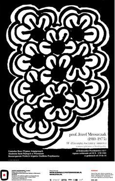 Leszek Hołdanowicz, Poland - Profesor Józef Mroszczak, 1985 #50designers50posters50mbp #STGU #AMS #ASP