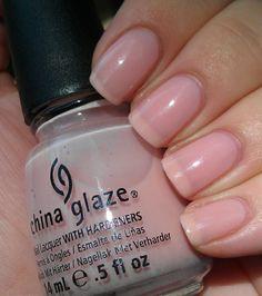 China Glaze - Innocence #nails