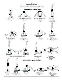 Home Practice Immune Sequence | Ramamani Iyengar Memorial Yoga Institute…