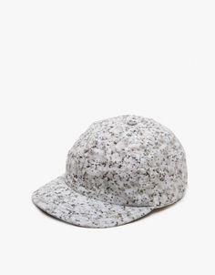White & Black Sport Cap