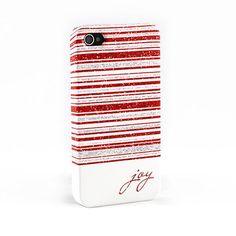 Joy christmas IPhone 4 case
