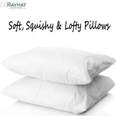 We've got a secret for you. Soft, squishy, and wonderfully lofty; they're a complete treat. Pillows feel as soft as luxury down; they're made with microfibre. Down Pillows, Bed Pillows, Cushions, Duvet, Bedding, Good Sleep, Holiday Sales, Bed Sheets, Pillow Cases