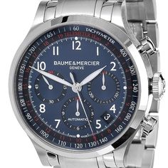 Baume & Mercier Men's Capeland MOA 10066 Stainless Steel Chronograph Watch