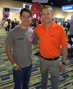 Ryan Reed and Charlie Kimball