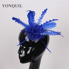 >> Click to Buy << Free shipping Retail hair comb sinamay fascinator hats, feather hair accessories,8 color are avaliable,RMSF104 #Affiliate
